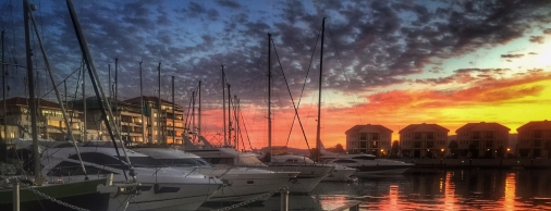 Queensway Yachts Sunset