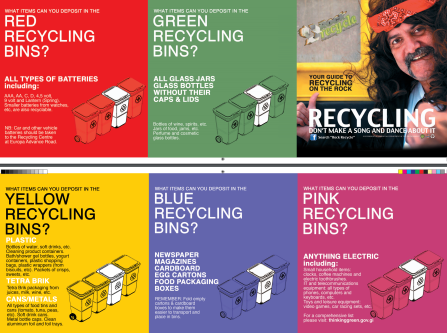 Bins - Recycling Poster